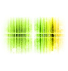 vertical lines abstract green vector image vector image