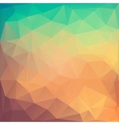 Poligonal of colored abstract vector
