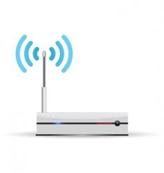 Router wireless vector