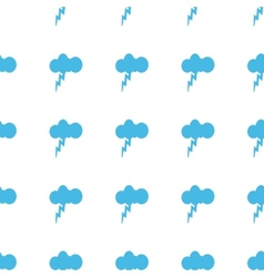 Unique storm seamless pattern vector
