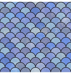 Asian fish scales pattern seamless vector