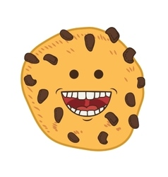 Cookie cartoon icon bakery design graphic vector