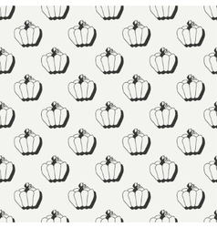 Happy Halloween Hand drawn seamless pattern with vector image vector image