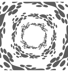 Lava abstract shape vector
