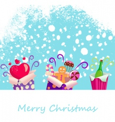 surprise gifts vector image vector image