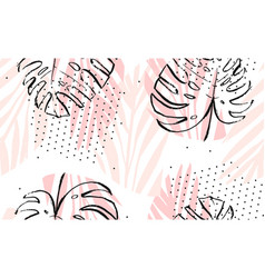 Hand drawn abstract artistic freehand vector