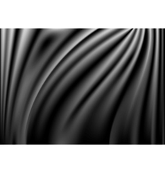 Satin curtain background vector