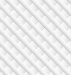 White diagonal geometric background vector image