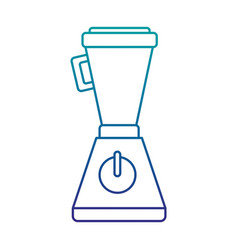 blender appliance isolated icon vector image vector image