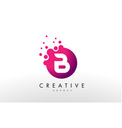 Letter b logo b letter design vector
