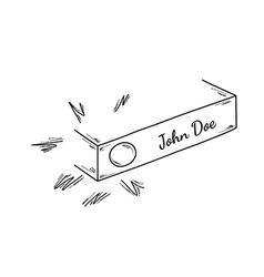Sketch of the doorbell vector