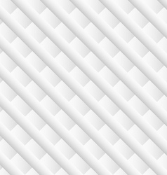 White diagonal geometric background vector image