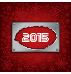 2015 new year celebrate card vector
