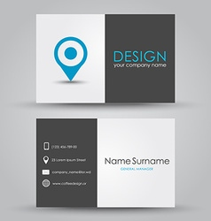 Design business card vector
