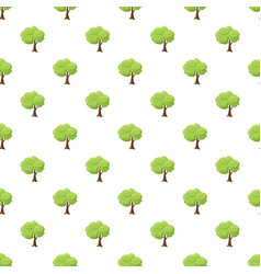 Green tree pattern vector