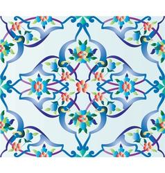 Ottoman tile vector