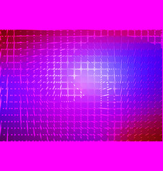 Pink purple blue spiral rounded mosaic background vector