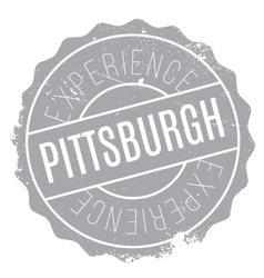 Pittsburgh stamp rubber grunge vector image