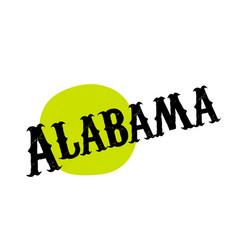 Alabama sticker stamp vector
