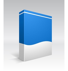 blank box vector image