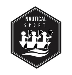 Nautical sport vector
