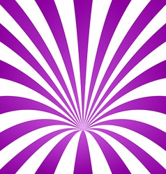 Purple striped cone design background vector