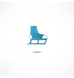 Skating Icon vector image vector image