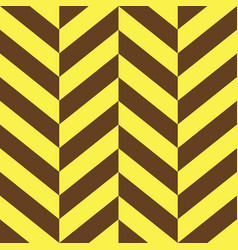 Yellow and brown parallelogram seamless pattern vector
