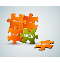 Web solution vector