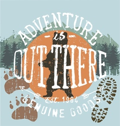 Adventure outthere vector