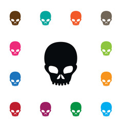 isolated scary icon pirate element can be vector image