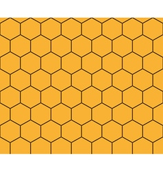 Abstract background honeycomb vector