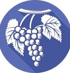 Grape icon vector