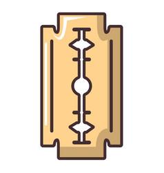Blade razor icon cartoon style vector
