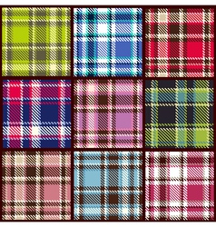 Plaid tartan seamless pattern vector