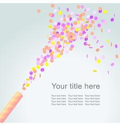 celebration4 vector image vector image