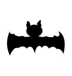 Isolated bat silhouette vector
