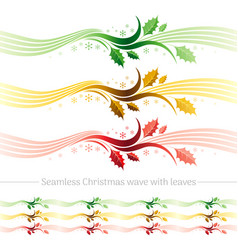 Merry christmas seamless holiday vector