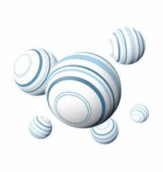 design balls vector image