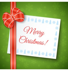 Merry christmas greeting background vector