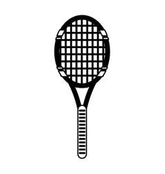 Tennis racquet icon image vector