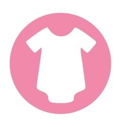Clothes clothing isolated icon vector
