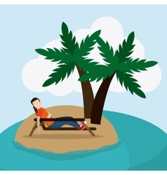 Rest and sleep design vector