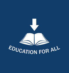 Education for all vector