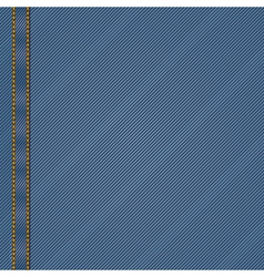 jean material background vector image vector image