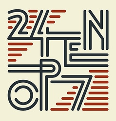 Open 24 7 sign vector