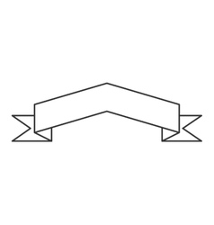 ribbon banner icons vector image