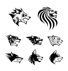 Wild Beast Symbol vector image vector image