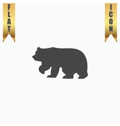 Bear symbol - vector