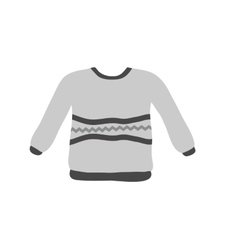 Warm sweater vector